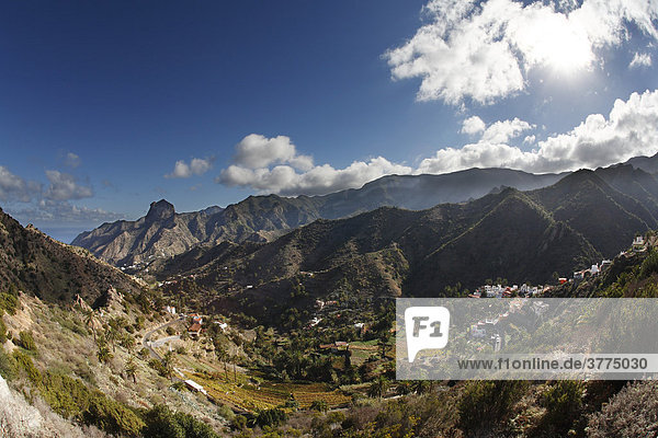 Vallehermoso  Roque Cano  La Gomera  Kanaren  Spanien