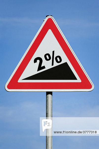 2 % profit tax dividend gain increase gradient - symbolic picture - series