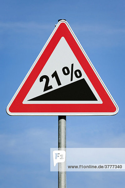 21 % profit tax dividend gain increase gradient - symbolic picture - series