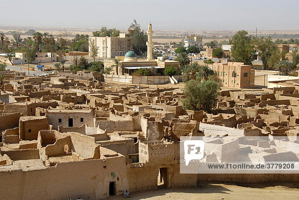 View of the old city Ghat Fezzan Libya