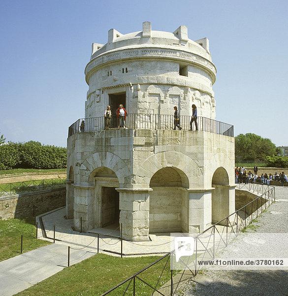 Ravenna Emilia Romagna Italy mausoleum tomb of Theodorich
