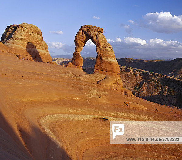 Delicate Arch  Arches Nationalpark  Utah  USA