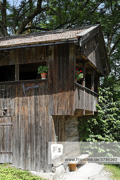 Former granary  Bad Wiessee  Upper Bavaria Germany