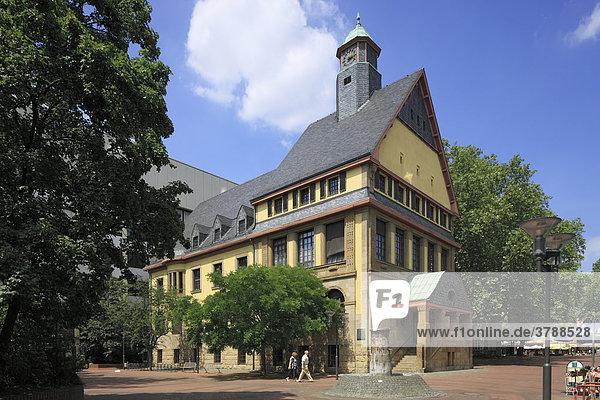 Altes Rathaus  Johann-Schmitz-Platz  Frechen  Nordrhein-Westfalen  Deutschland  Europa
