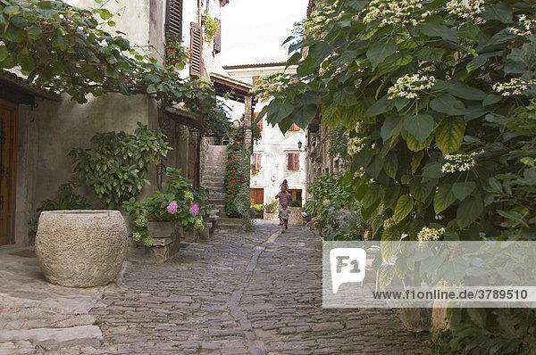 Groznjan Istria Croatia Europe artist village in the mountains