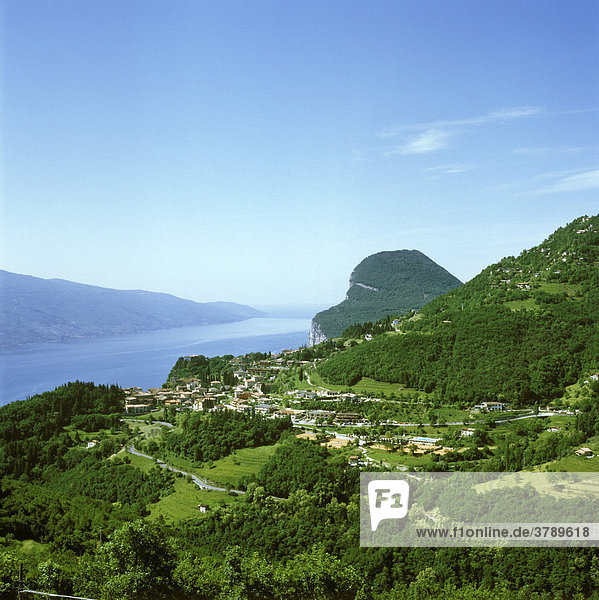 Lago di Garda western side Lombardia Lombardy Italy