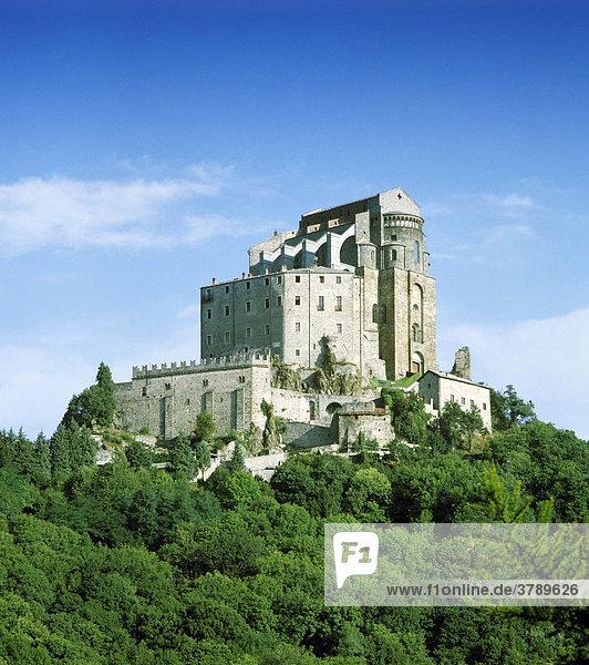 Saluzzo province Cuneo Piedmont Piemonte Italy Italia Salitta al Castello tower of Palazzo comunale