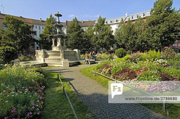 Weissenburger Platz Haidhausen Muenchen Bayern Deutschland