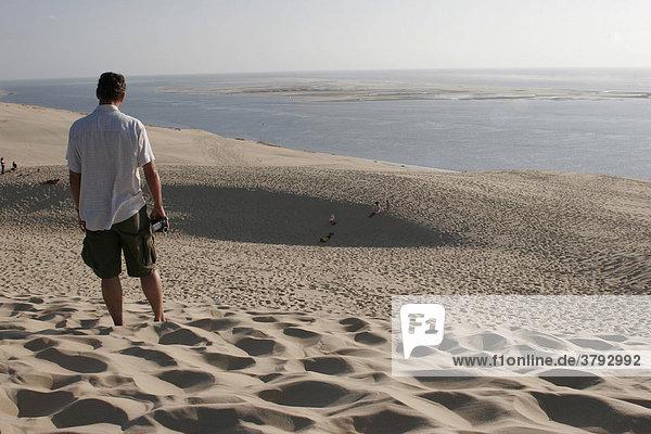 Düne von Pyla Atlantiküste Frankreich