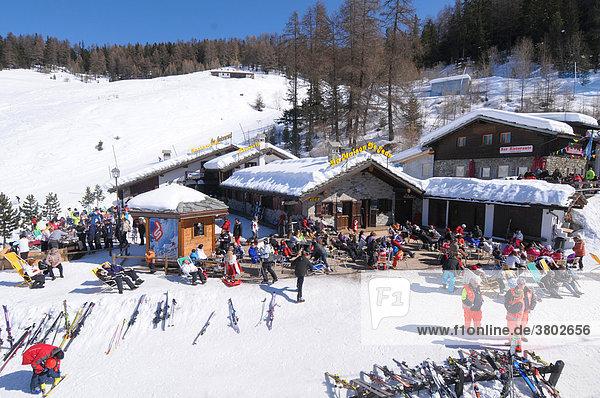 Pila Piemont Aostatal Italien