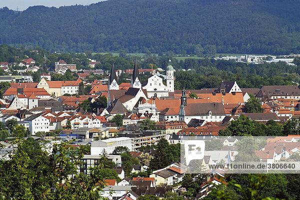 Eichstätt Oberbayern Deutschland im Altmühltal