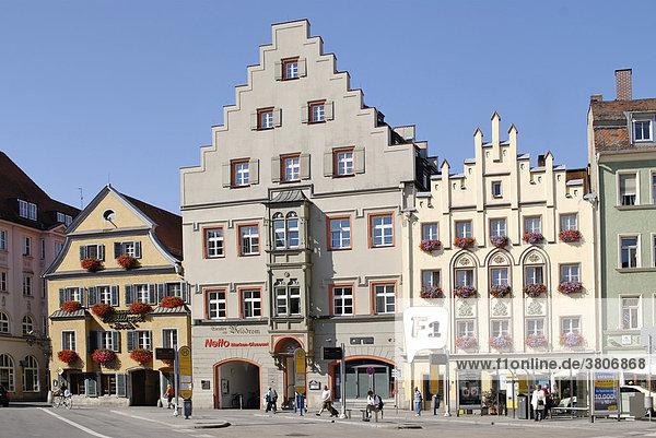 Regensburg Upper Palatinate Bavaria Germany Arnulfplatz Arnulf Square