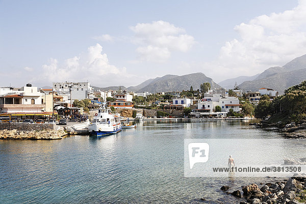 Sisi (Sissi  Sission)  Kreta  Griechenland