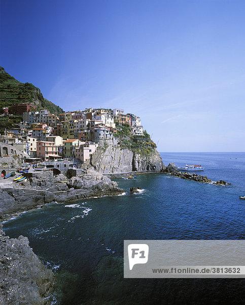Manarola  Cinque Terre  Ligurien  Italien