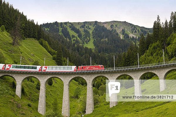Europa  Schweiz  den Glacier-Express Europa, Schweiz, den Glacier-Express