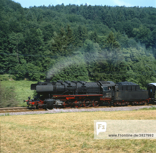 Dampflokomotive  Albtal zwischen Ettlingen und Bad Herrenalb  Nordschwarzwald  Deutschland Dampflokomotive, Albtal zwischen Ettlingen und Bad Herrenalb, Nordschwarzwald, Deutschland