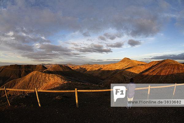 Aussichtspunkt an Passhöhe La Tablada nahe Pajara - Fuerteventura   Kanrische Inseln