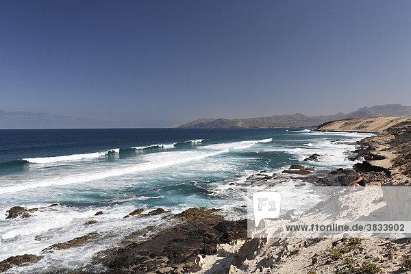 Isthmus - Istmo de la Pared   Playa de Barlovento   Fuerteventura   Kanarische Inseln