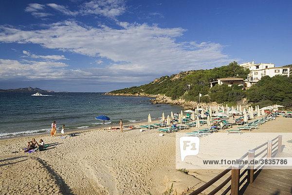 Baja Sardinia beach  Sardinia  Italy