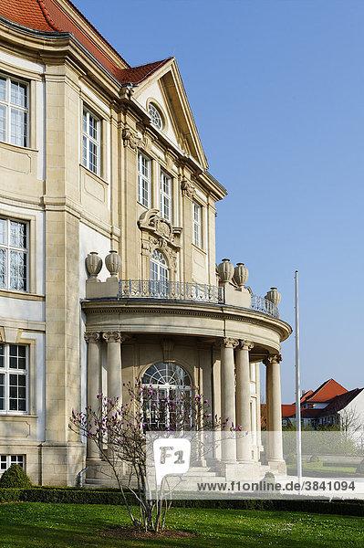 Oberlandesgericht  erbaut 1914-1917  am ehemaligen Burgberg  Naumburg  Sachsen-Anhalt  Deutschland  Europa