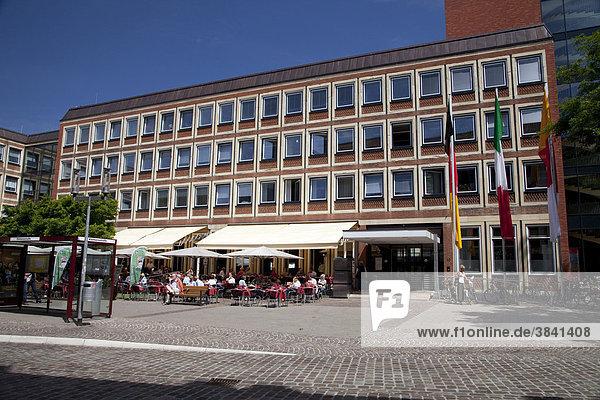 Stadthaus  Stadt Münster  Münsterland  Nordrhein-Westfalen  Deutschland  Europa