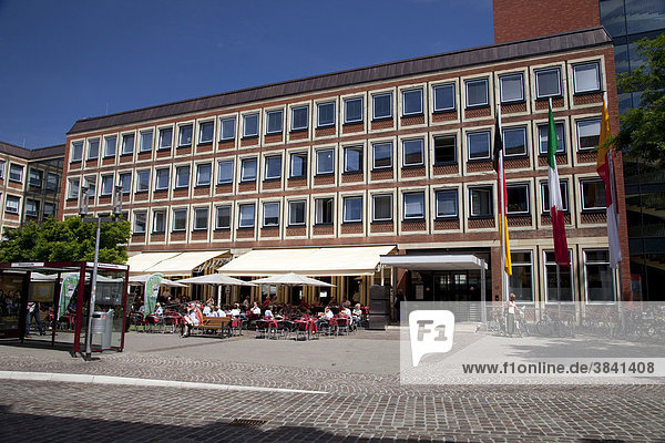 City hall  Muenster  Muensterland  North Rhine-Westphalia  Germany  Europe