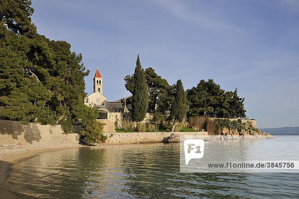 Dominikanerkloster  Bol  Insel Brac  Kroatien  Europa