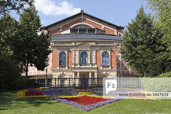 Richard-Wagner-Festspielhaus  Bayreuth  Oberfranken  Franken  Bayern  Deutschland  Europa