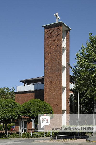 Benediktekirken  dänische Seemannskirche  Hamburg  Deutschland  Europa