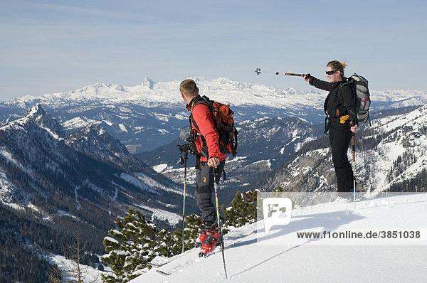 Skitour  Wörschach  Steiermark  Österreich  Europa