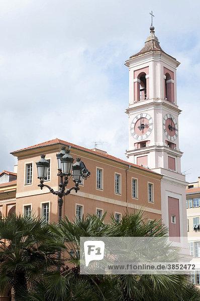 Uhrturm  Torre dell'orologio  Nizza  CÙte d'Azur  Frankreich  Europa