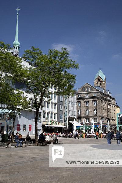 Alter Markt  Dortmund  Ruhrgebiet  Nordrhein-Westfalen  Deutschland  Europa