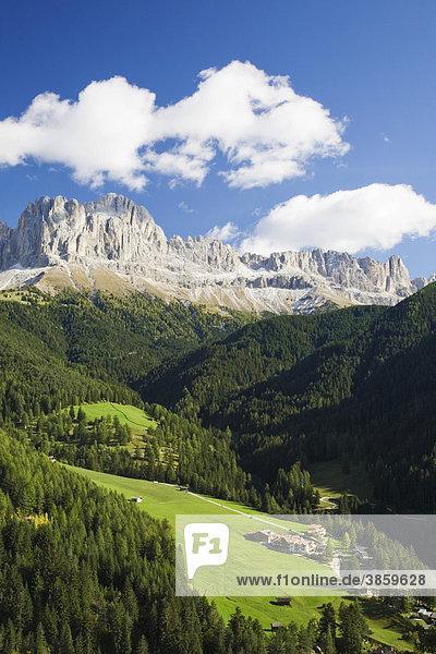 Rosengarten  nahe Tiers  Dolomiten  Trentino-Südtirol  Italien  Europa
