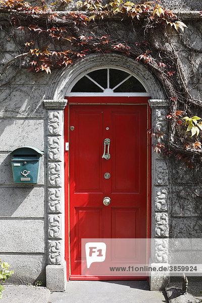 adare britische inseln county limerick europa irland rote haust r lizenzpflichtiges bild. Black Bedroom Furniture Sets. Home Design Ideas