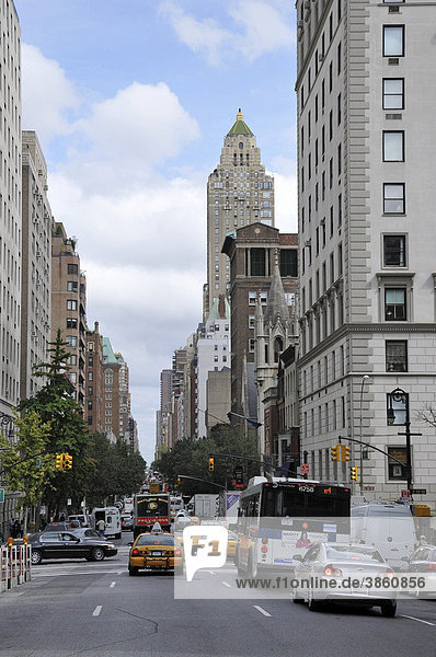 Madison Avenue  Upper East Side  New York City  New York  USA  Vereinigte Staaten  Nordamerika