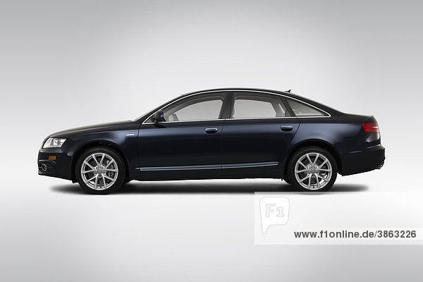 2011 Audi A6 3.0T Quattro in blau - Treiber Seitenprofil