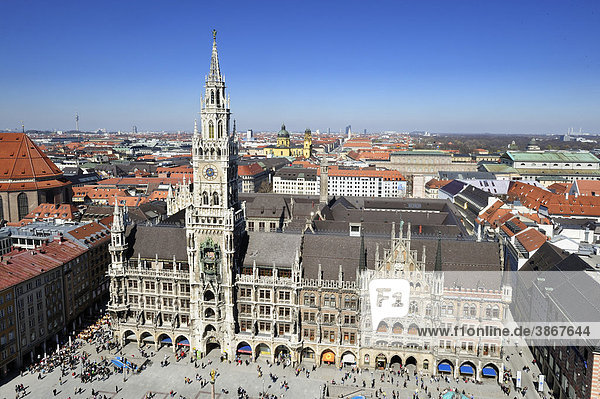 above  administration  administrative  angle  architecture  Bavaria  Bavarian  being  beings  building  buildings  church  city  city-scape  city-scapes  cityscape  cityscapes  day  daylight  daytime  during  elevated  Europe  European  exterior  exteriors  Federal  FRG  from  German  Germany  hall  halls  high  high-angle  human  humans  in  Marienplatz  Munich  Oberbayern  of  on  outdoor  overlook  overview  panoramic  people  person  persons  perspective  perspectives  Peter  photo  photos  Republic  scape  scapes  shot  shots  Southern  square  squares  St  the  top  topview  topviews  town  Upper  View  view  views
