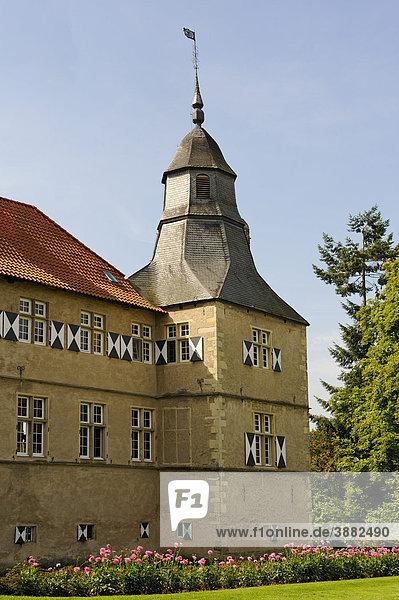 Schloss Westerwinkel  Ascheberg  Nordrhein-Westfalen  Deutschland  Europa
