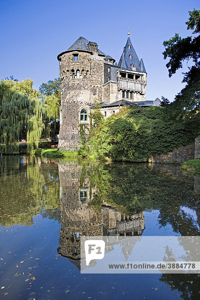 Schloss Hülchrath  Grevenbroich  Nordrhein-Westfalen  Deutschland  Europa