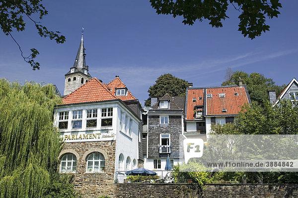 Stadtansicht von Essen-Kettwig  Nordrhein-Westfalen  Deutschland  Europa