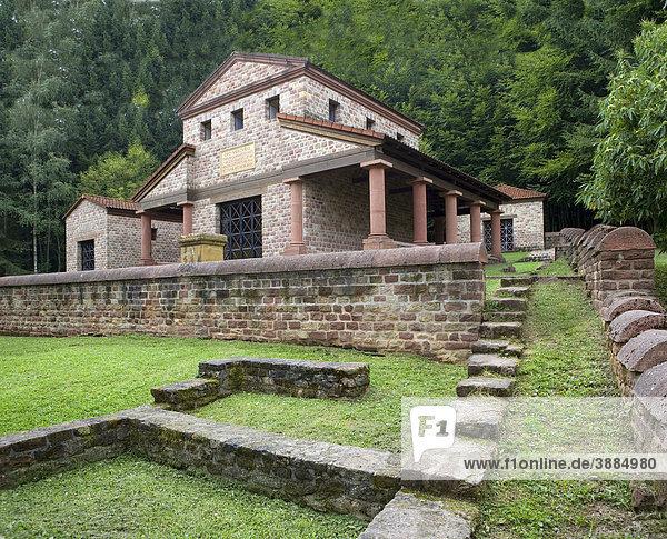Gallo-römischer Tempelbezirk auf dem Metzenberg  Tawern  Saarland  Deutschland  Europa