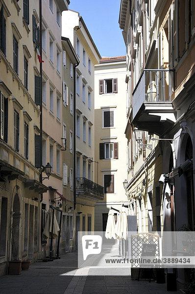 Enge Gasse  Triest  Italien  Europa