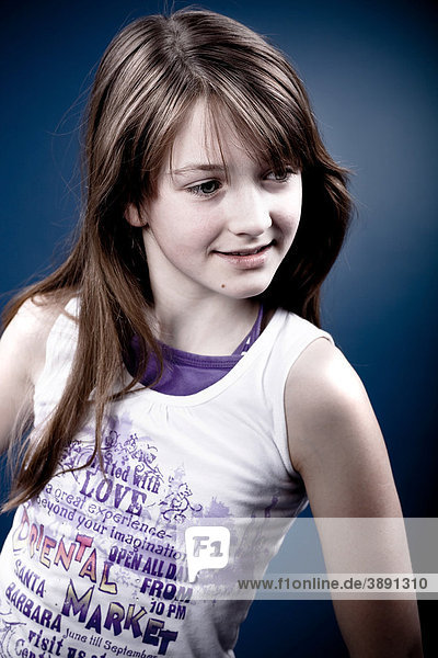 13-jähriges Mädchen