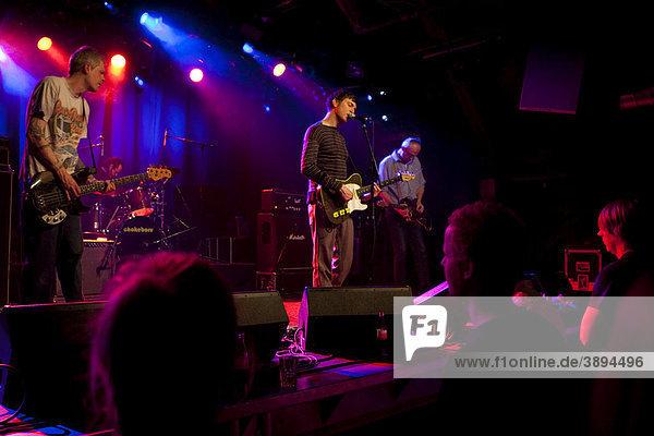 The U.S. Hawaiian band Chokebore live in the Schueuer venue  Lucerne  Switzerland