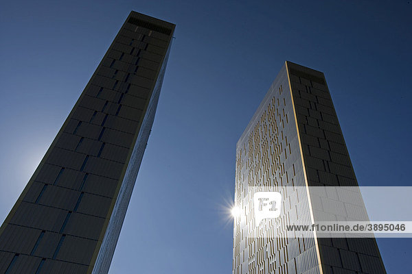 Bürohochhäuser  Europäischer Gerichtshof  Kirchberg-Plateau  Europaviertel  Luxemburg  Europa