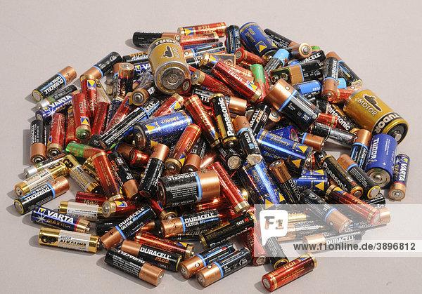 Alte Batterien  Recycling Alte Batterien, Recycling