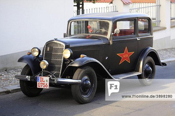 Oldtimer  KGB-Auto