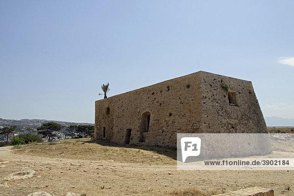 Venezianische Festung Fortezza  Burg  Rethimnon  Rethymno  Kreta  Griechenland  Europa
