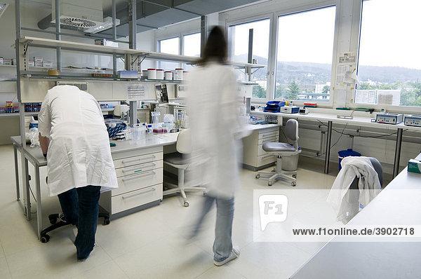 Laborszene  Genanalyselabor