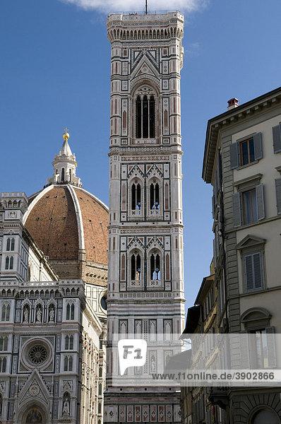 Dom Santa Maria del Fiore  UNESCO-Weltkulturerbe  Florenz  Toskana  Italien  Europa